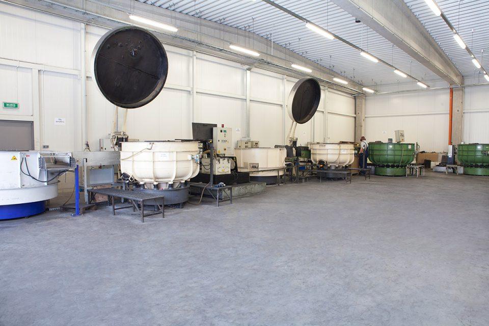 wibratory kołowe w firmie VIA