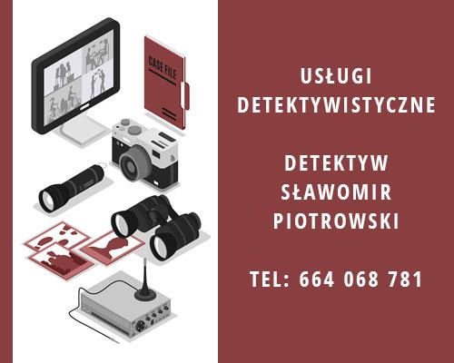 usługi detektywistyczne Opole - baner reklamowy