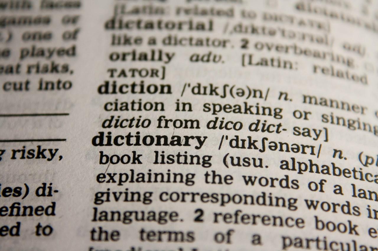 teksst w języku obcym - słownik