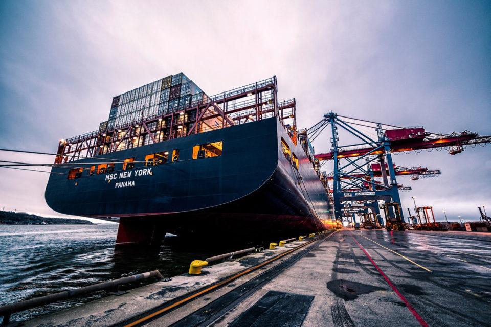 kontenery morskie